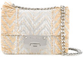Jimmy Choo Rebel Mini Soft crossbody bag - women - Raffia/Leather - One Size