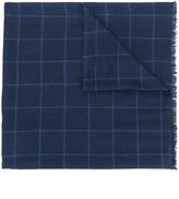 Corneliani checked scarf