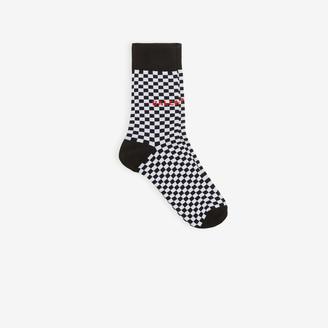 Balenciaga Checkerboard Socks