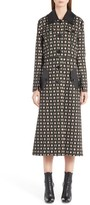 Fendi Women's Double Face Wool & Silk Coat With Zip-Off Hem