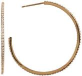 Gorjana CZ 38mm Hoop Earrings
