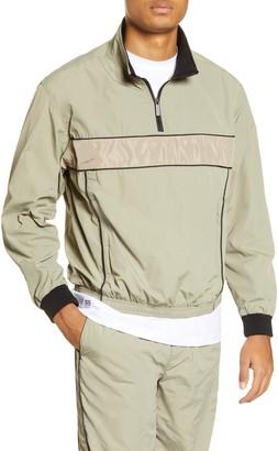 NATIVE YOUTH Quarter Zip Nylon Pullover