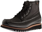 G.H. Bass Quail Razor Leather Boots Black