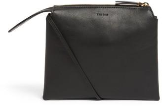 The Row Mini Leather Twin Cross-Body Bag
