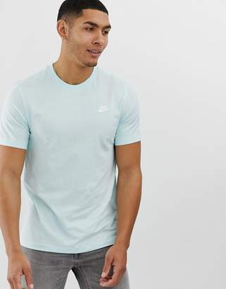 Nike Club Logo T-Shirt in Mint-Green