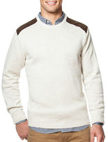 Chaps Combed Cotton Crewneck Sweater