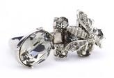 Oscar de la Renta Swarovski Crystal Bee Ring