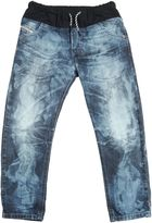 Diesel Bleached Stretch Denim Jeans