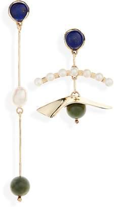 FARIS Plie Mismatched Earrings