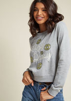 ModCloth Lovely Lollygagging Sweatshirt in 1X