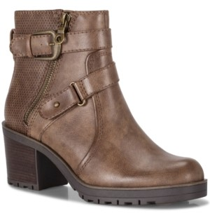 Bare Traps Baretraps Towanda Lug Sole Booties Women's Shoes