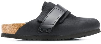 Birkenstock Leather Strap Slippers