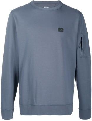C.P. Company Crew Neck Logo Sweatshirt