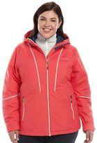 Columbia Plus Size Snow Daze Thermal Coil Snowboard Jacket
