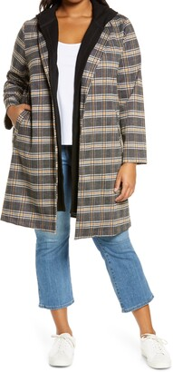 MelloDay Knit Coat with Removable Hood