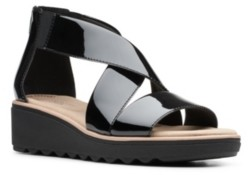 Clarks Collection Women's Jillian Rise Wedge Sandals Women's Shoes
