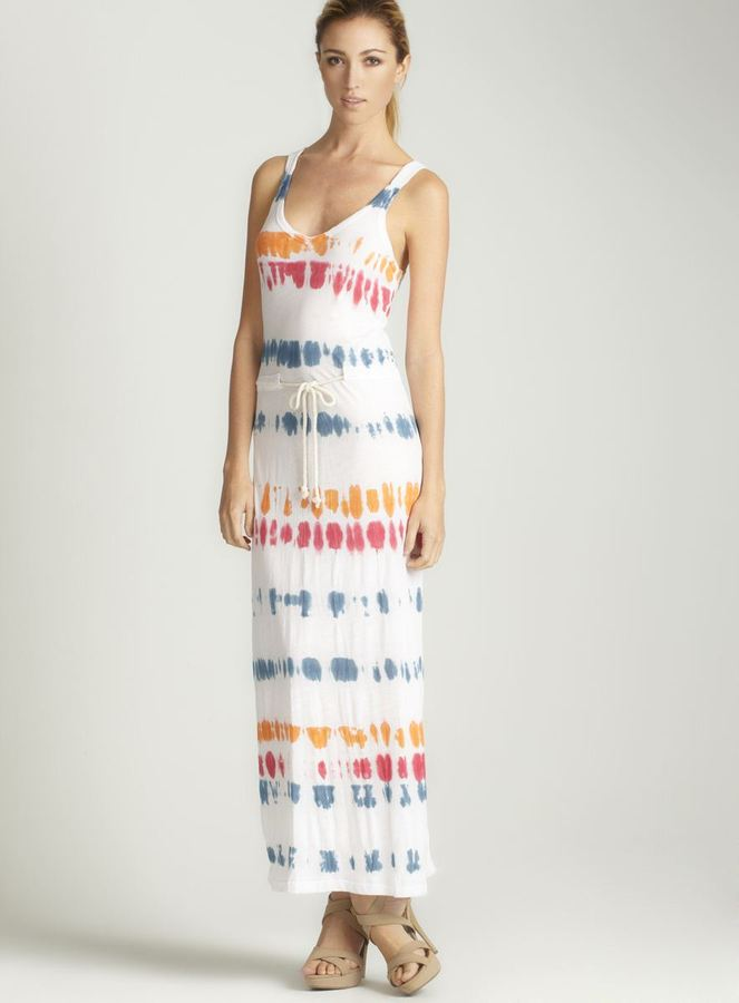 Anama Tie Dye Rope Waist Dress