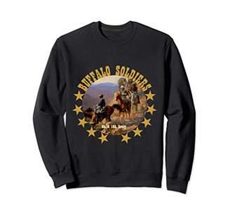 Buffalo David Bitton Soldiers Tribute 9th 10th Cavalry African American Sweatshirt