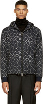 CNC Costume National Black Giraffe Print Jacket