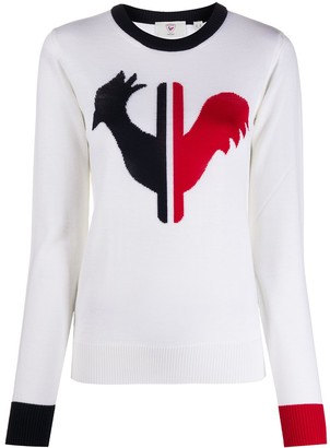 Rossignol Alya rooster virgin wool jumper