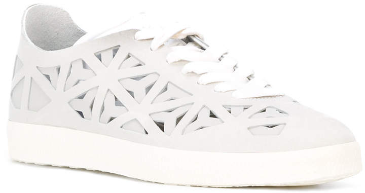adidas Stan Smith cut out sneakers