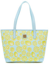 Dooney & Bourke Limone Collection Charleston Lemon Shopper Tote