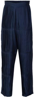 Em & Shi Midnight Pleated Pants