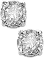 TruMiracle® Diamond Stud Earrings (3/4 ct. t.w.) in 14K White Gold 14K Gold or 14K Rose Gold