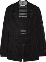 Autumn Cashmere Cable-knit cotton cardigan
