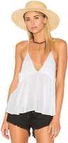 Indah August Cami in White. - size L (also in M,S)