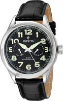 Invicta Men's Vintage 11741 Leather Swiss Quartz Watch