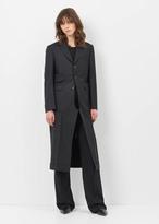 Junya Watanabe black blazer pant long coat