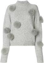 Tibi pom pom sweater