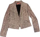 HUGO BOSS Purple Cotton Jacket for Women