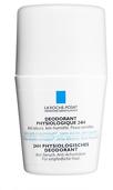 La Roche-Posay Sensitive Skin 24h Roll On Deodorant 50ml