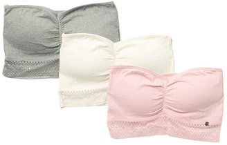 Lucky Brand Seamless Strapless Bandea - Pack of 3
