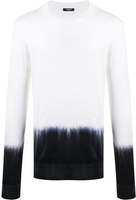 Balmain Tie-Dye Jumper