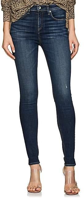 Rag & Bone Women's Elton High-Rise Skinny Jeans - Md. Blue