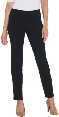 Women with Control Regular Tushy Lifter Slim Leg Pants