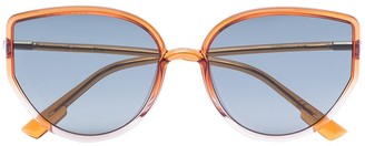 Christian Dior SoStellaire4 cat-eye frame sunglases