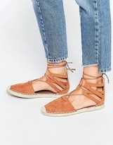 Head Over Heels By Dune Tan Espadrille Sandals