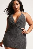Forever 21 FOREVER 21+ Plus Size Twist-Front Halter Dress