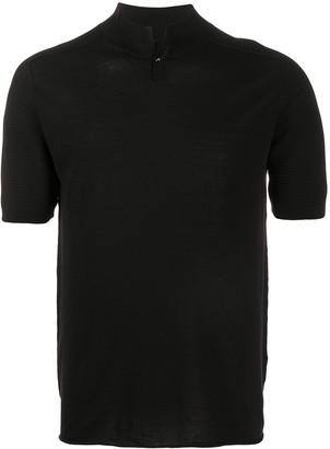 Transit stand up collar T-shirt