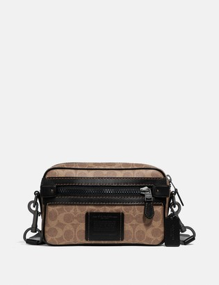 Coach Academy Crossbody In Signature Canvas