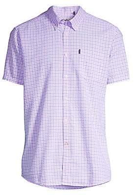 Barbour Men's Shirt Shop Highland Seersucker Short-Sleeve Button-Down Shirt