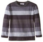 Dolce & Gabbana Printed Stripe Long Sleeve T-Shirt (Toddler/Little Kids)
