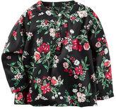 Carter's Floral Sateen Top