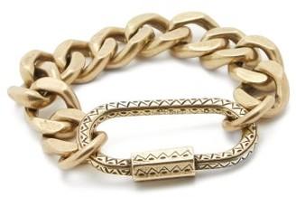Etro Carabiner Curb-chain Bracelet - Gold