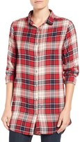 Jag Jeans 'Magnolia' Plaid Tunic