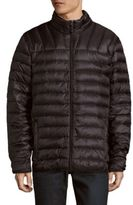 Hawke & Co Big & Tall Solid Sleeveless Quilted Vest